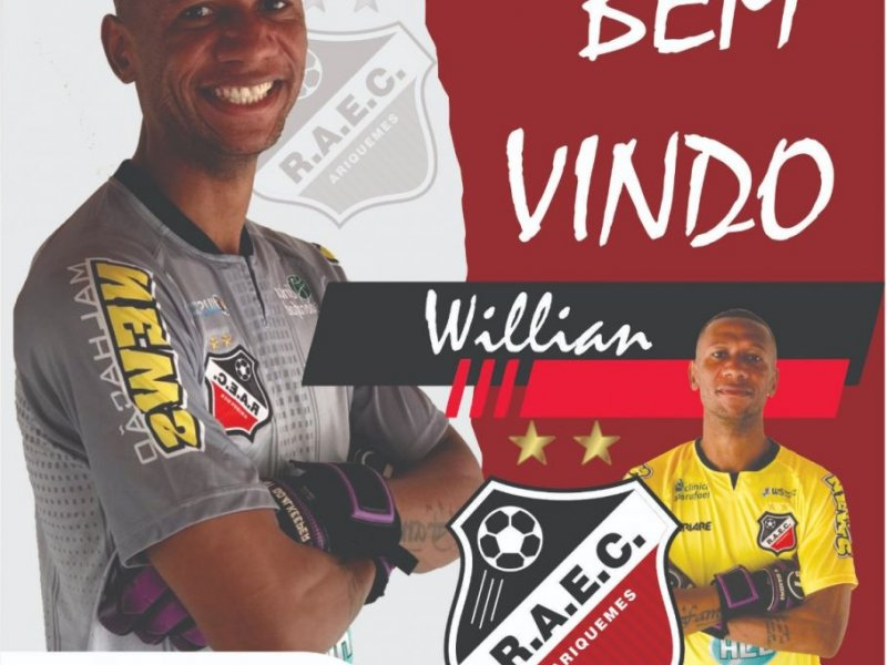 Real Ariquemes anuncia volta do goleiro Willian
